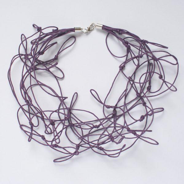 Halsschmuck für Frauen in Farbe Violet